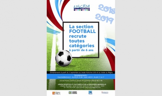 La section FOOTBALL recrute